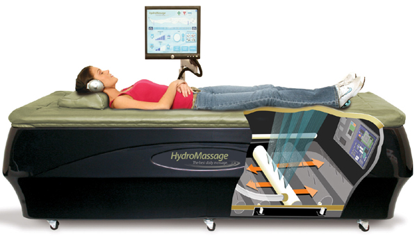 HydroMassage systems also offer the highest degree of treatment customization