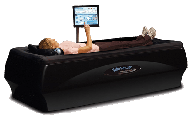 HydroMassage provides a relaxing, rejuvenating massage that's comfortable, convenient, and affordable.